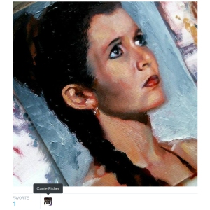 carrie fisher fav